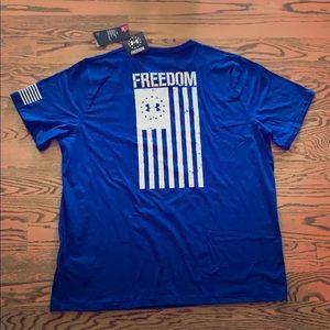 NWT Under Armour Freedom UA T-Shirt